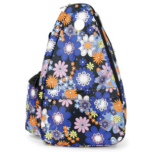 LIFE IS TENNIS SECRET GARDEN SMALL TENNIS SLING