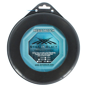 STILL IN BLACK RESISTRETCH 1.20MM BLUE REEL STRING