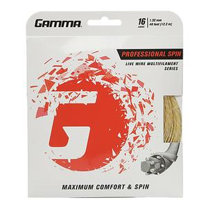 GAMMA LIVE WIRE PROFESSIONAL SPIN 16G STRING