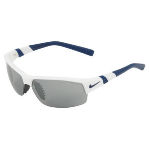 NIKE SHOW X2 WHITE/MIDNIGHT NAVY SUNGLASSES