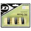 DUNLOP Gecko-Tac 3 Pack Yellow Tacky Tennis Overgrip