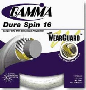 GAMMA DURA SPIN 16G WITH WEARGUARD