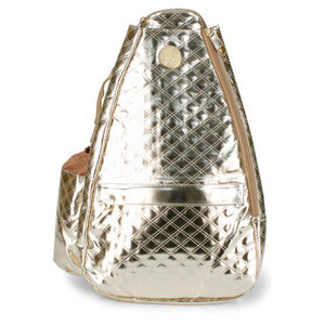 LIFE IS TENNIS CLEOPATRA GOLD SMALL SLING