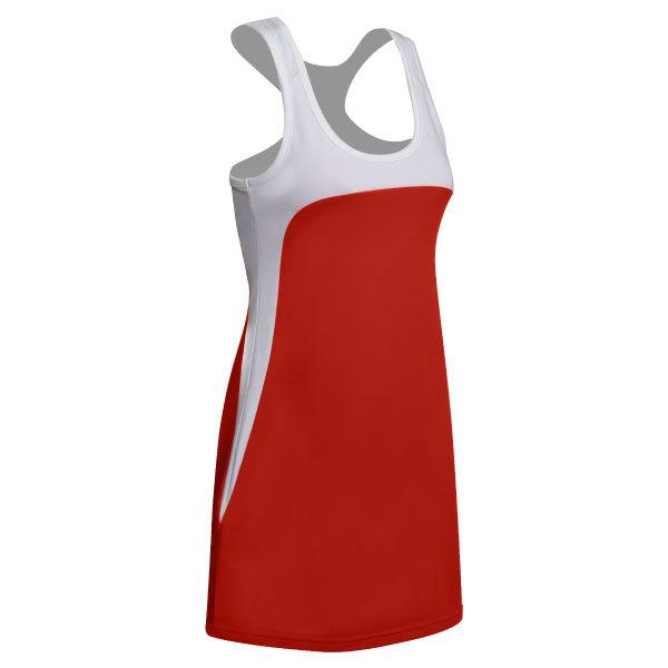 Women's Technical Tennis Dress With Mesh Racer Back