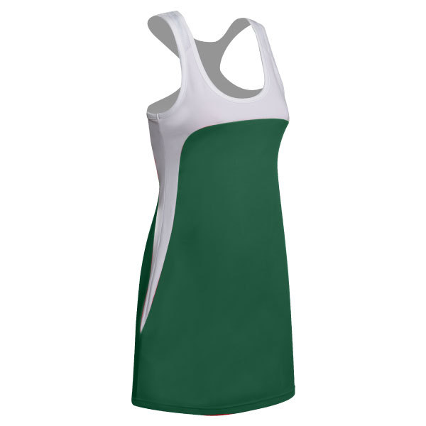 Women's Technical Tennis Dress With Mesh Racer Back
