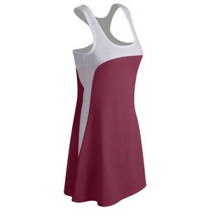 Women`s Technical Tennis Dress With Mesh Racer Back