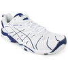 Men`s Gel Resolution 4 White/Navy Tennis Shoes by ASICS