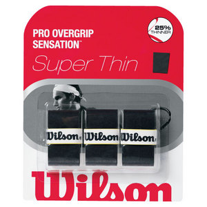 WILSON PRO OVERGRIP SENSATION BLACK 3 PACK