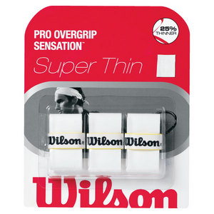 WILSON PRO OVERGRIP SENSATION WHITE 3 PACK