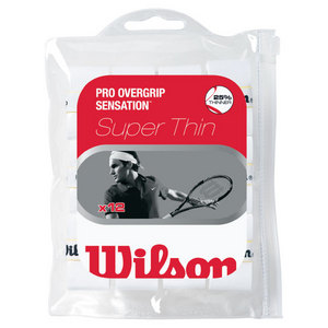 WILSON PRO OVERGRIP SENSATION 12 PACK WHITE