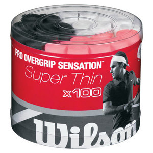 WILSON PRO OVERGRIP SENSATION 100 PACK ASSORTED