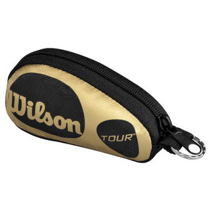WILSON TOUR BLACK/GOLD TENNIS KEYCHAIN