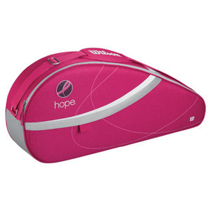 WILSON HOPE 3 PACK PINK TENNIS BAG