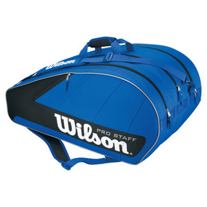 WILSON PRO STAFF BLUE 12 PACK TENNIS BAG