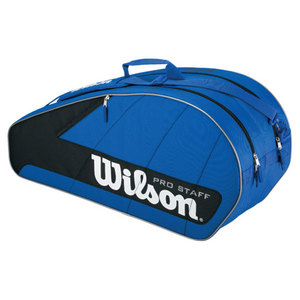 WILSON PRO STAFF BLUE 6 PACK TENNIS BAG