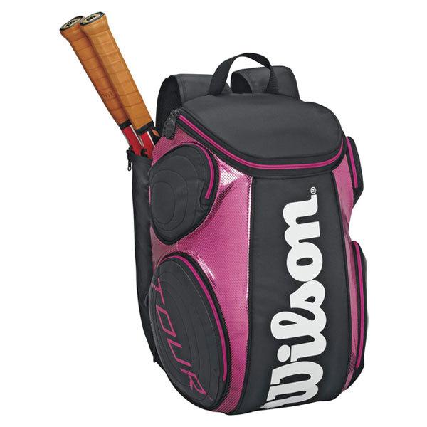 Tour Black/Pink Large Tennis Backpack