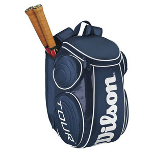 WILSON TOUR BLUE/WHITE LARGE TENNIS BACKPACK