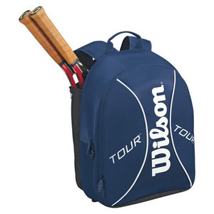 WILSON TOUR BLUE/WHITE TENNIS BACKPACK