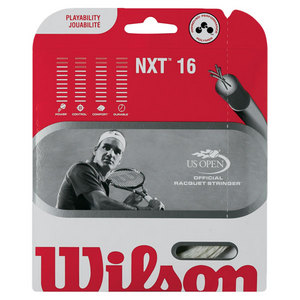 WILSON NXT 16G BLACK TENNIS STRING
