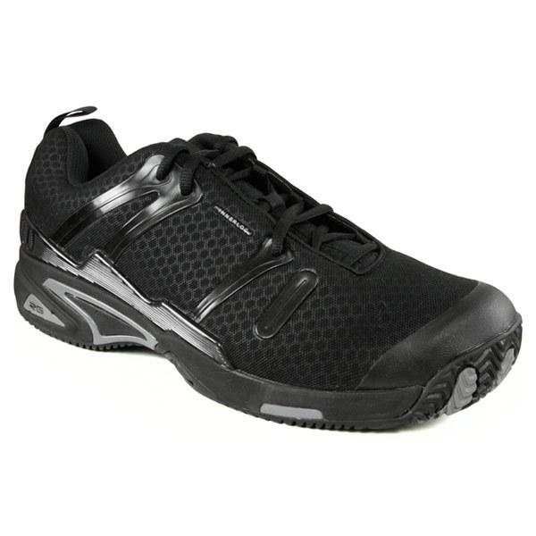 Men's Tour Spin Ii Tennis Shoes Black/Silver