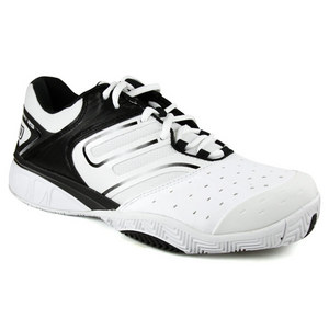 WILSON MENS TOUR IKON WHITE/BK TENNIS SHOES