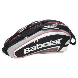 BABOLAT TEAM 6 PACK TENNIS RACQUET HOLDER BLACK