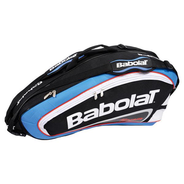 Team 6 Pack Tennis Racquet Holder Blue