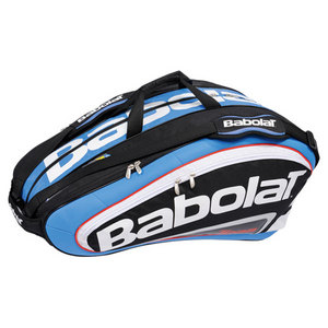 BABOLAT TEAM 12 PACK TENNIS RACQUET HOLDER BLUE