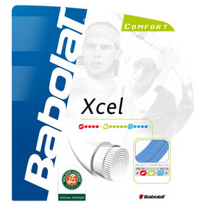 BABOLAT XCEL 17G BLUE TENNIS STRING
