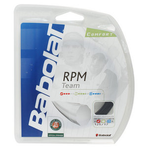 BABOLAT RPM TEAM 17G TENNIS STRING BLACK