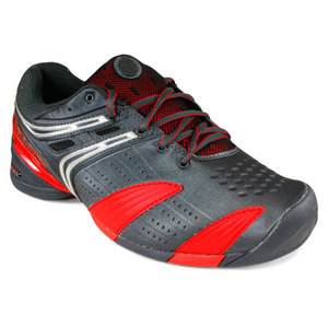 BABOLAT MENS V-PRO ALL COURT BLACK/RED SHOES