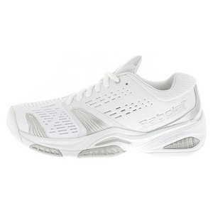 Women`s SFX White Tennis Shoes White/Grey