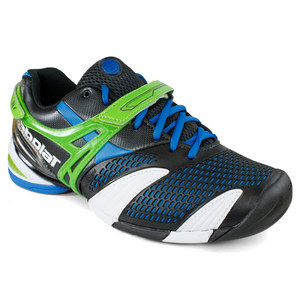 BABOLAT MENS PROPULSE 3 GREEN TENNIS SHOES