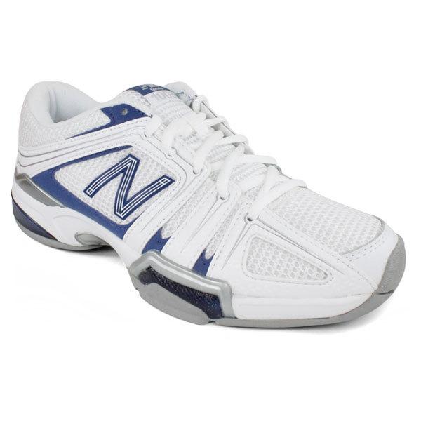 Women's 1005 White/Navy B Width Tennis Shoes