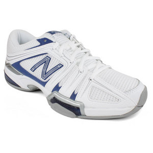 NEW BALANCE WOMENS 1005 WHITE/NAVY B WIDTH SHOES