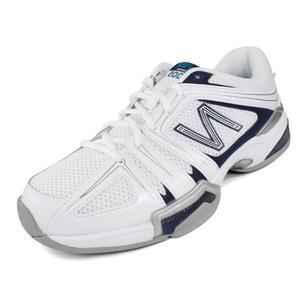 Men`s 1005 White D Width Tennis Shoes