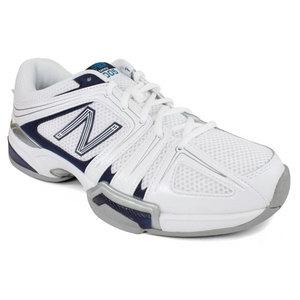 Men`s 1005 White 4E Width Tennis Shoes