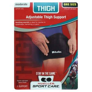 MUELLER MUELLER THIGH SUPPORT BLACK