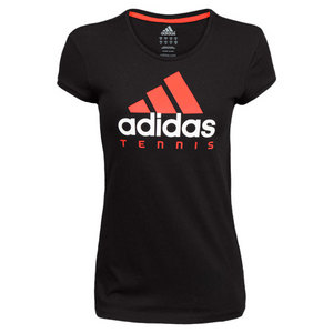 adidas GIRLS TENNIS ESSENTIALS LOGO TEE