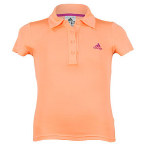 adidas GIRLS RESPONSE TRADITIONAL TENNIS POLO