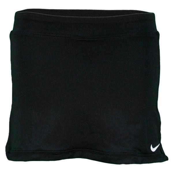 Girls Black Border Skirt