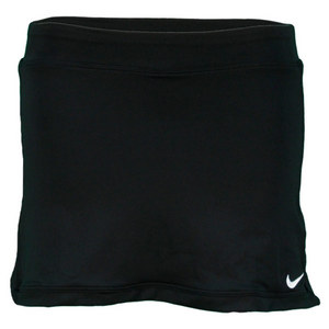 NIKE GIRLS BLACK BORDER SKIRT