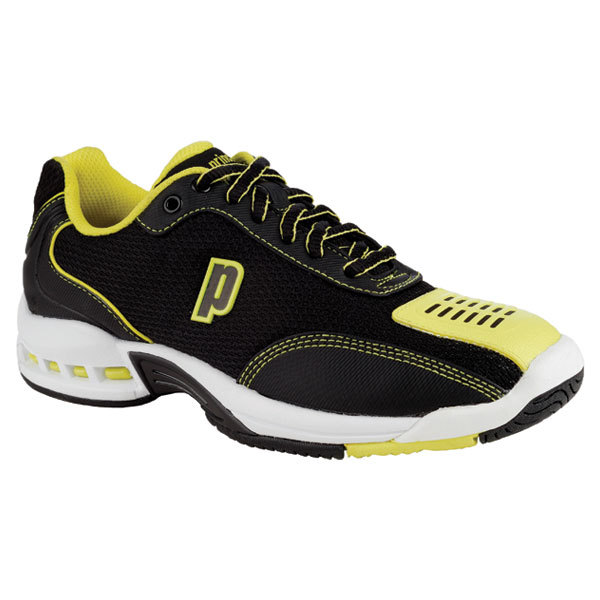 Junior's Rebel 2 Black/Yellow Tennis Shoes