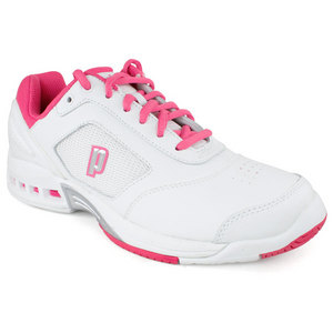 PRINCE WOMENS RENEGADE 2 LS WHITE/PINK SHOES