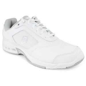 PRINCE WOMENS RENEGADE 2 LS WHITE/SILVER SHOES