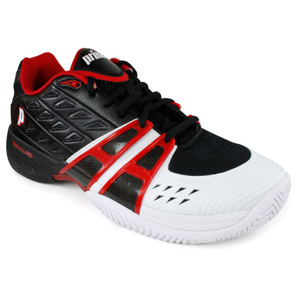Men's T- 24 Black/White/Red Tennis Shoes
