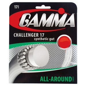 Challenger 17g White Tennis String