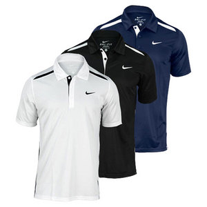 NIKE MENS NET UV TENNIS POLO