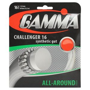 Challenger 16g White Tennis String