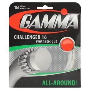 GAMMA CHALLENGER 16G WHITE TENNIS STRING